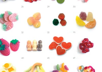 Classic sweets poster